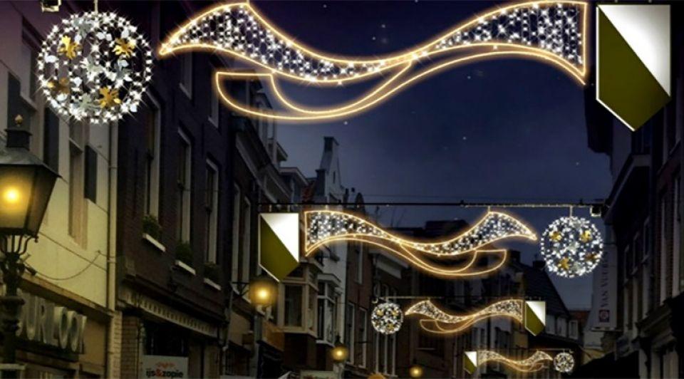 Feestverlichtingbinnenstad Utrecht