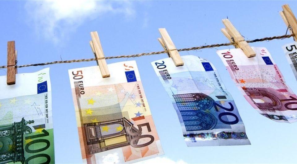 Financieel Waslijn Geld Biljetten ANP