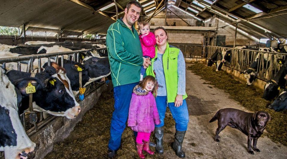 Frank de Roo Tineke Vermeulen met gezin
