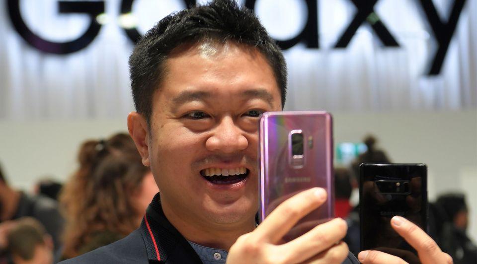Galaxy S9 anp