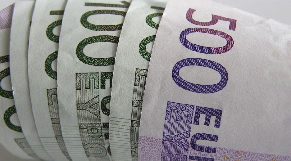 Geld Biljetten Stock