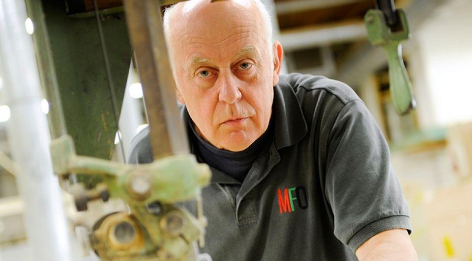 Gerard Kamphuis 50 jaar bij meubelfabriek Annina Romita