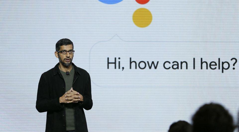 Google Assistent spraakrobot