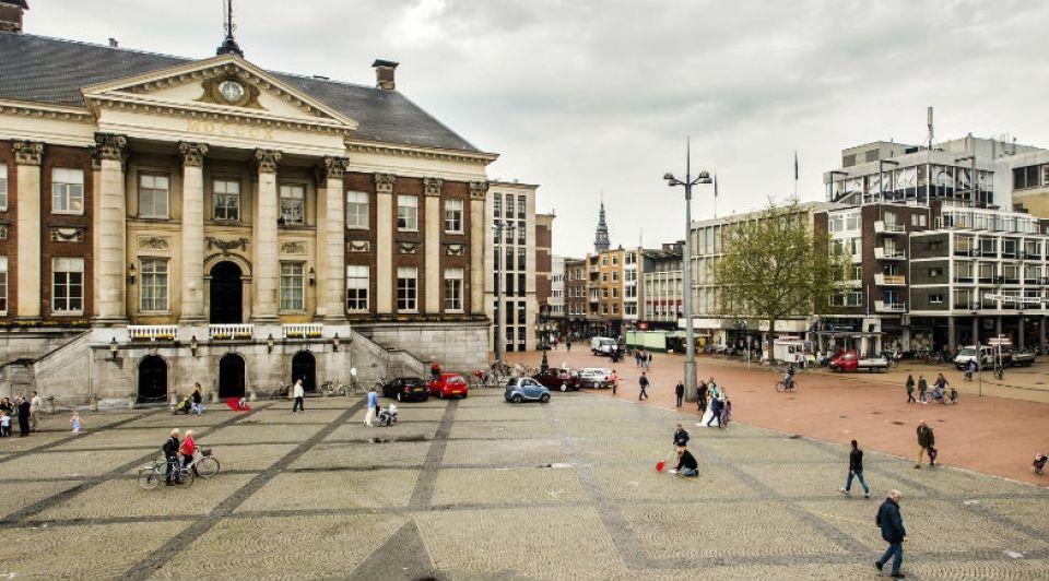 Grote Markt Groningen Stadhuis ANP