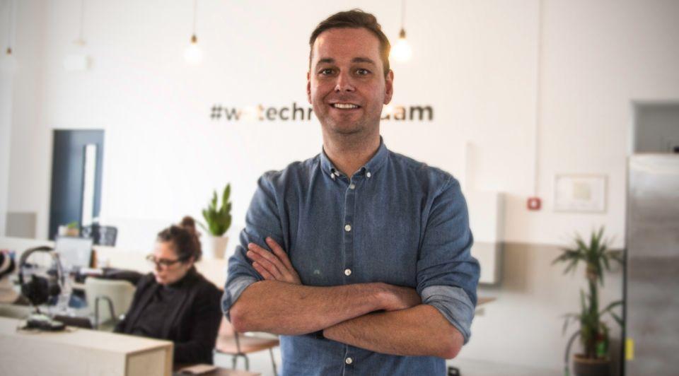 Hans Scheffer Helloprint CEO 2018