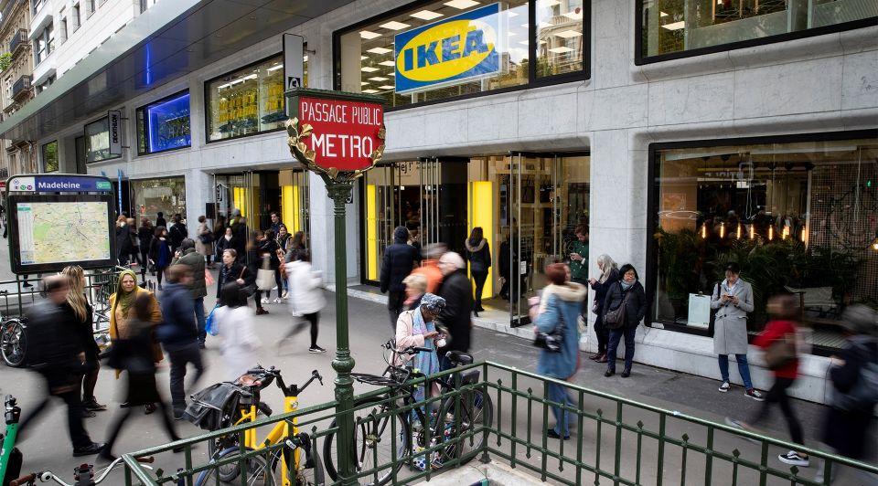 IKEA retail leegstand winkelstraat city