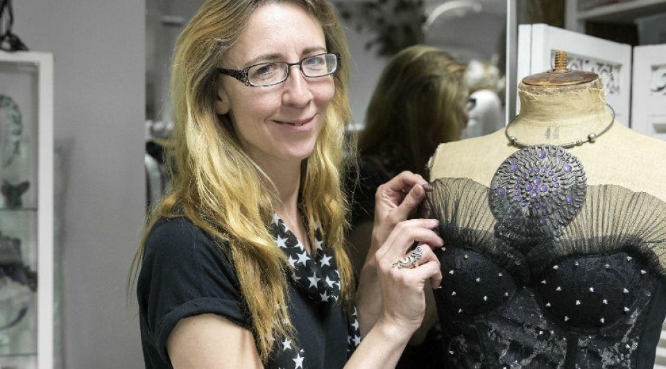 Ingeborg Steenhorst modeontwerpster W2 Poppodium