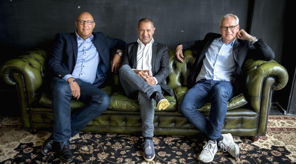 Jaco Scheffers Roland Kahn en Ronald van Zetten VD