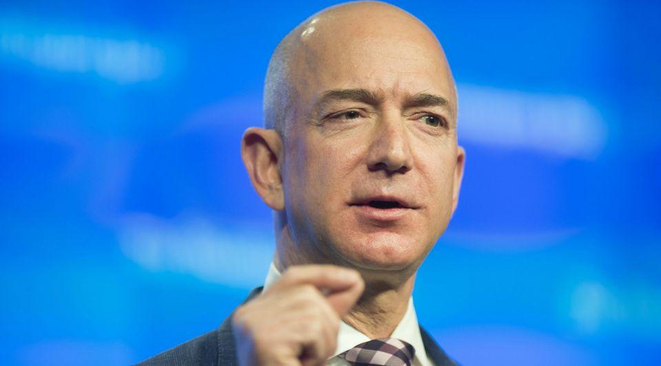 Jeff Bezos Amazon internetmiljardair rijkste