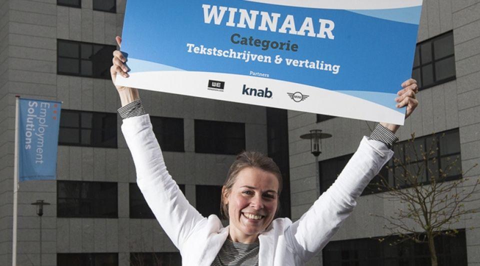 Jet van der Weijden freelancer award Ronald Hissink
