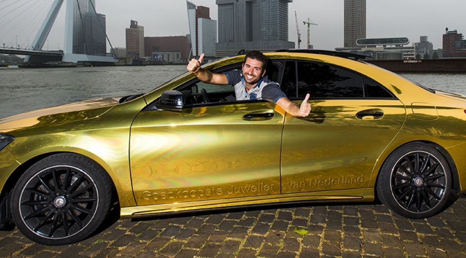 Juwelier gouden Mercedes 1
