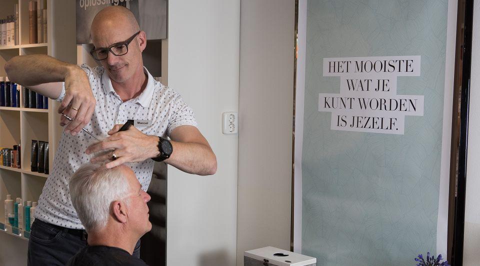 Kapsalon Stiltestoel Frans Heerink en Marcel Kerskes