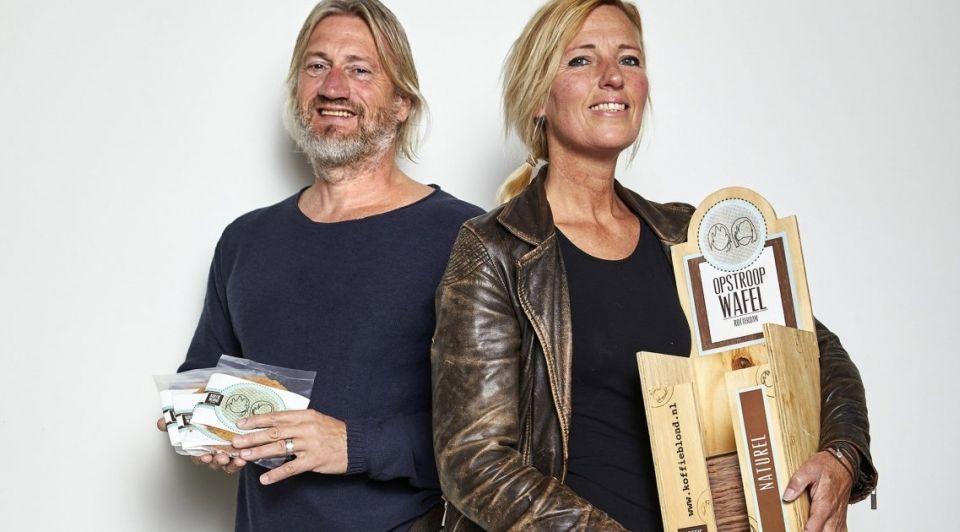Karin en Paul Hoogenboezem van Opstroopwafels
