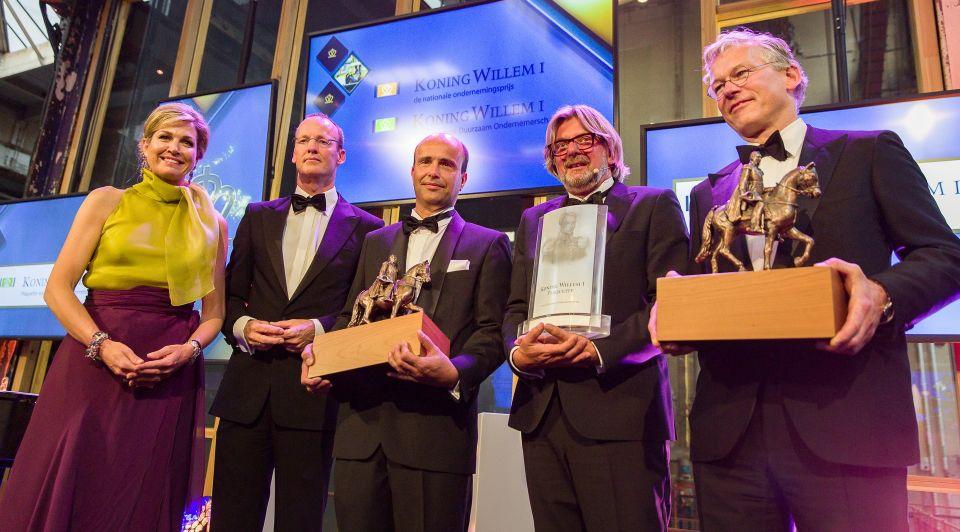 Koning Willem I prijsuitreiking 2016