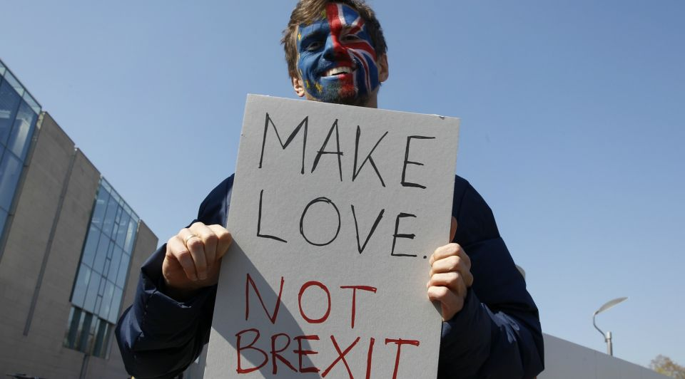 Make Love Not Brexit
