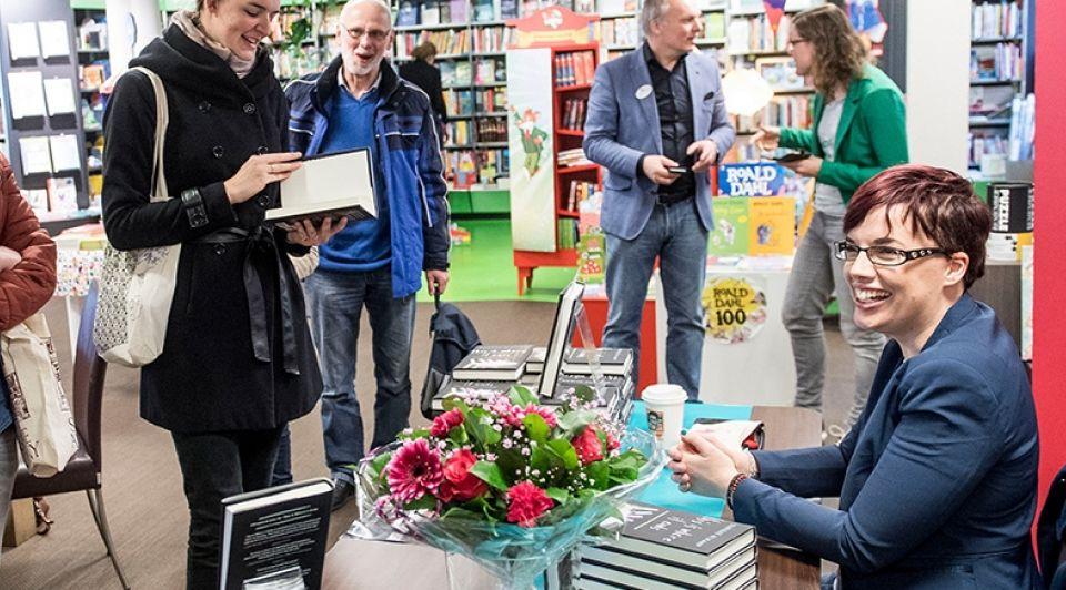 Marieke Nijkamp signeersessie Emiel Muijderman