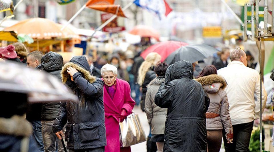 Markt Amsterdam Kooplieden