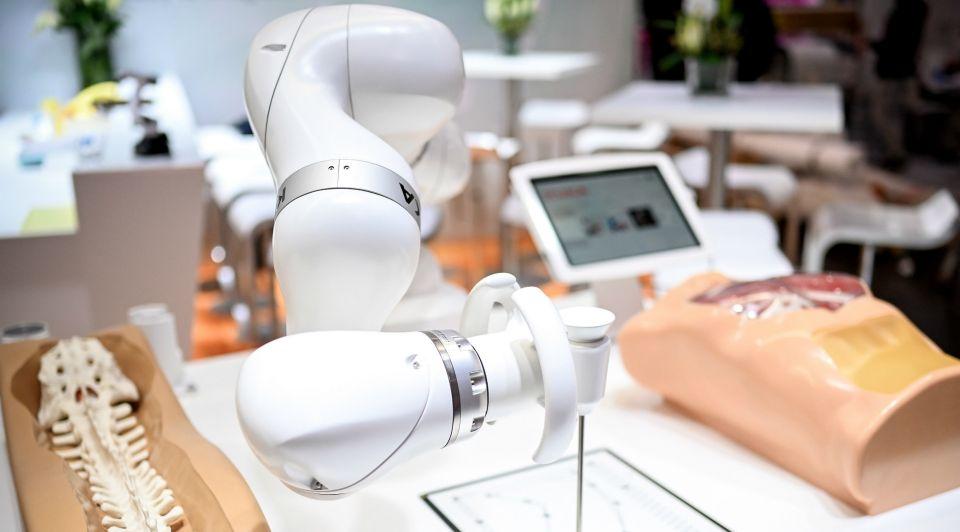 Medewerker van de toekomst robot