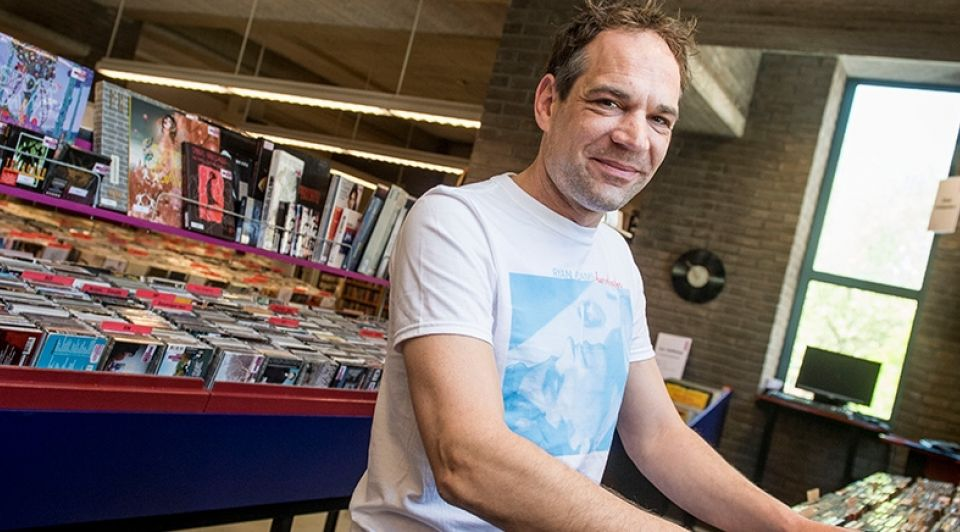 Muziekbank directeur Jasper Slaghuis Emiel Muijderman