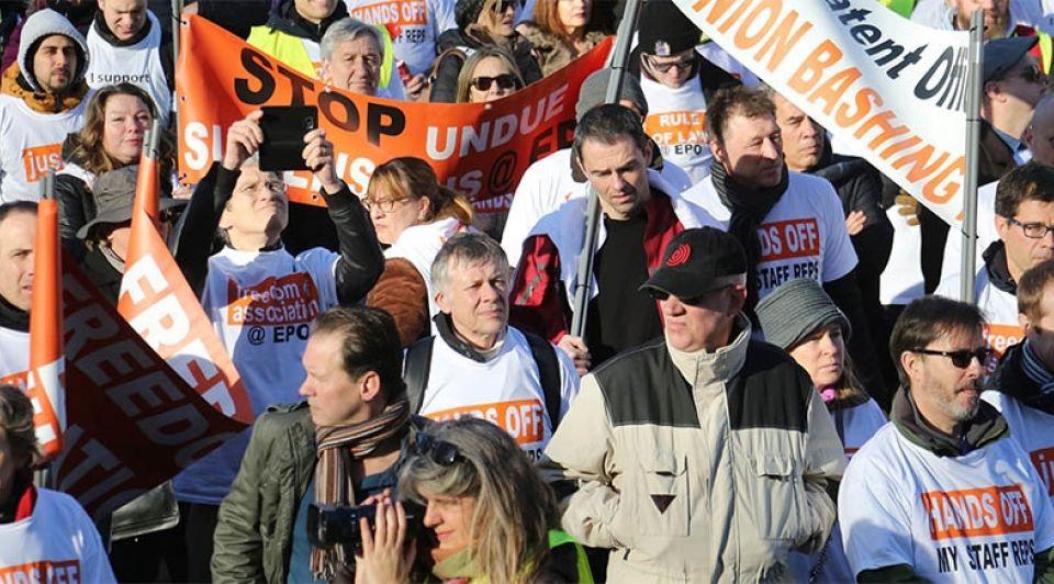 Octrooibureau Den Haag Protest Rijswijk 1065