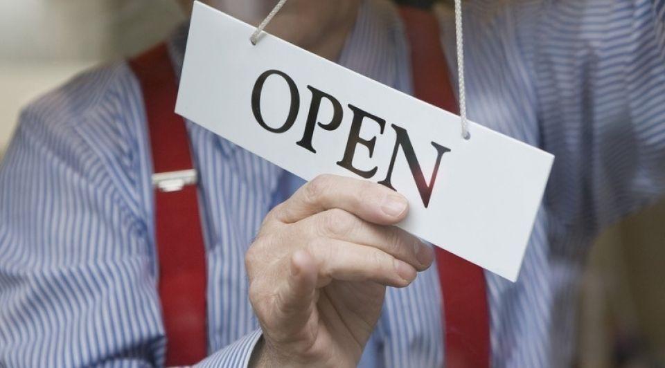 Open Gesloten Winkel Stock 1