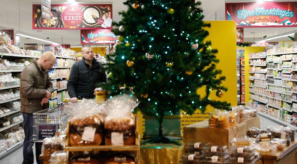 Overzicht openingstijden supermarkten kerst 2017 eerste kerstdag en tweede kerstdag