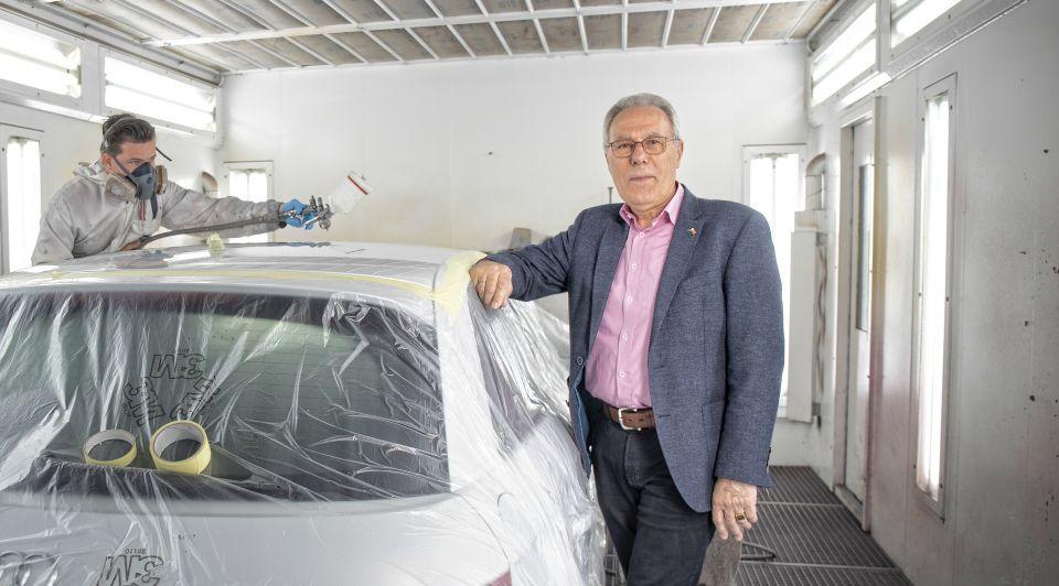 Peter Franken Nico Hogenboom Autoschade Nieuwerbrug Woerden