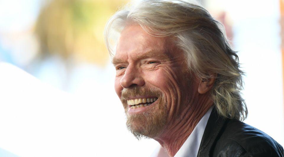 Richard Branson 9 tot 5