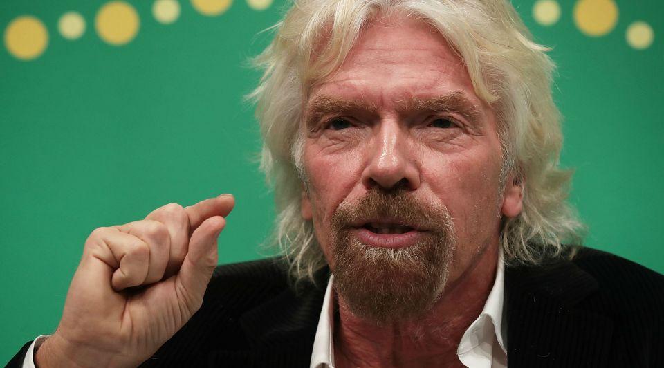 Richard Branson inspirerende sprekers bakken geld bedrijf