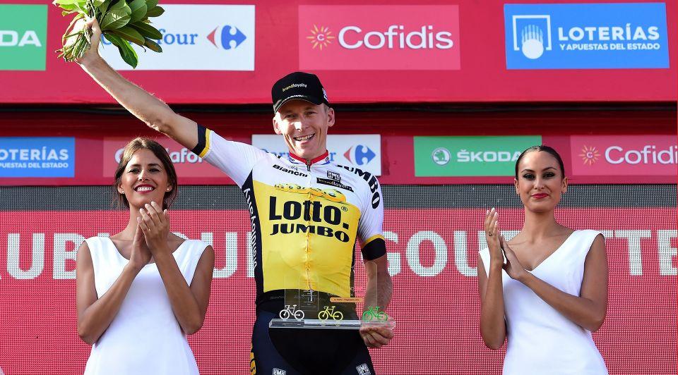 Robert Gesink Vuelta Etappewinnaar Col D Aubisque 1