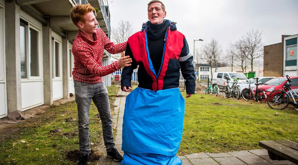 Sheltersuit New York daklozen