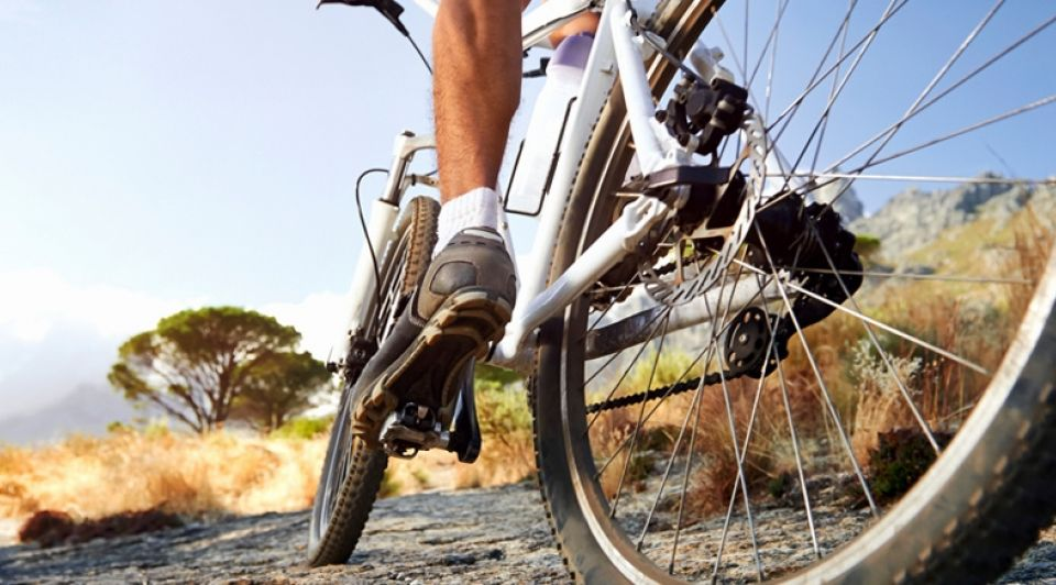 Stockfoto Mountainbike