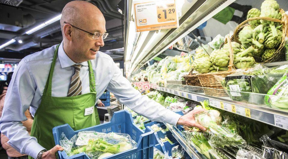 Supermarktwerknemer