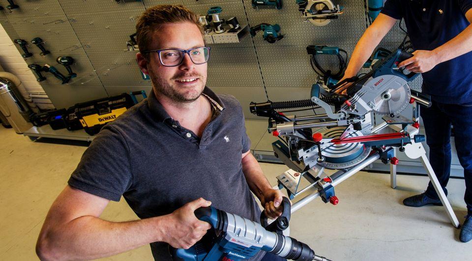 Tilburg webshop HBL online gereedschap winkel groei