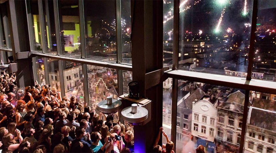 Tivoli Vredenburg Nieuwjaarsfeest
