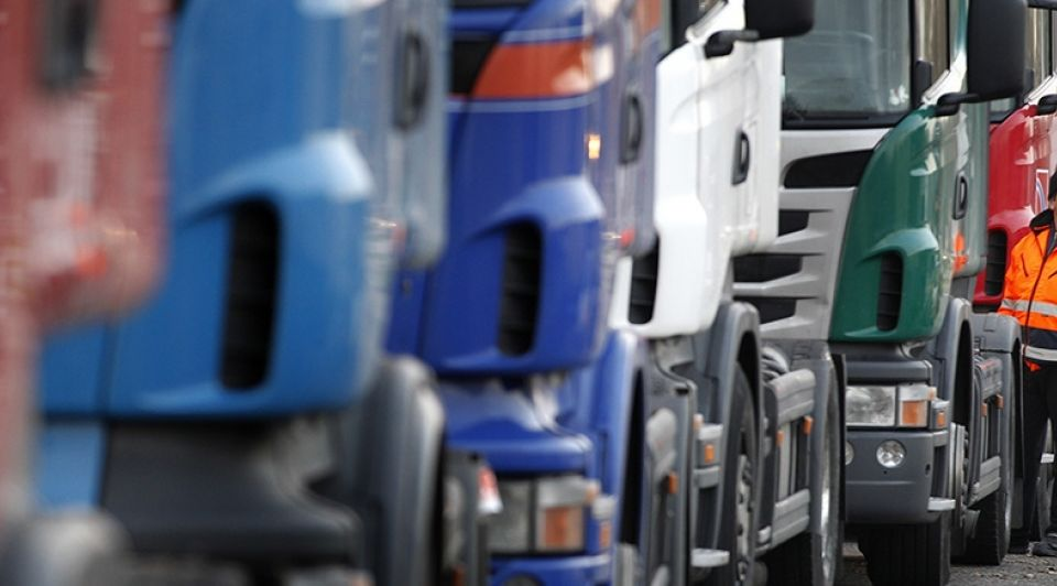 Vrachtwagenchauffeurs Italie