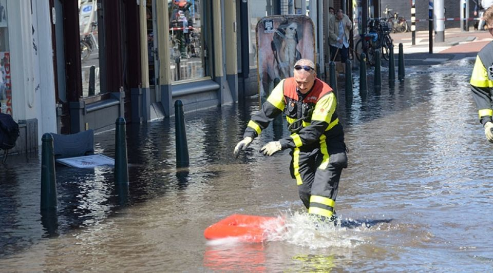 Wateroverlast Den Haag