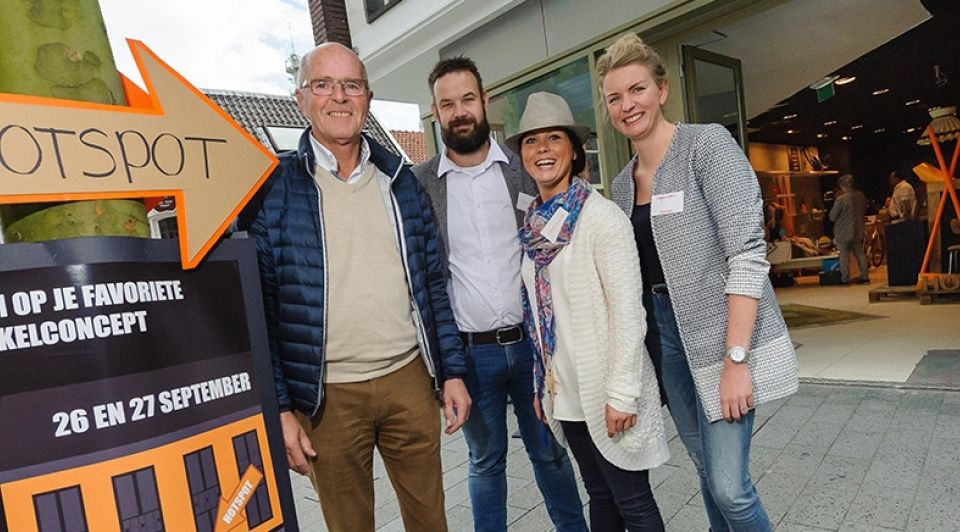 Win je Winkel de organisatoren Christian van der Meij