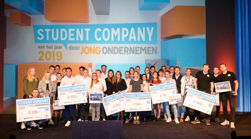 Winnaars Student Companyvanhet Jaar