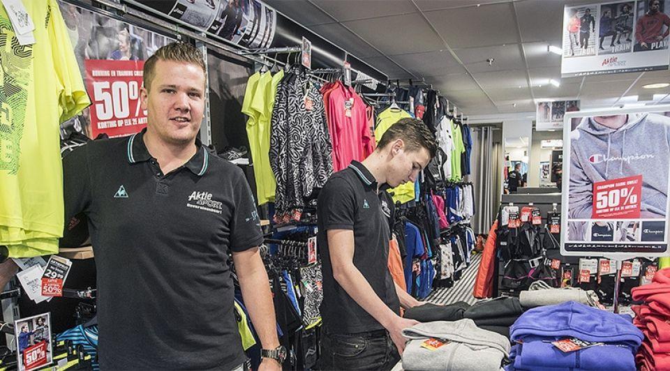 Aktiesport failliet oosterhout etten leur breda sportschoenen korting sale sportkleding sportzaak sportwinkel
