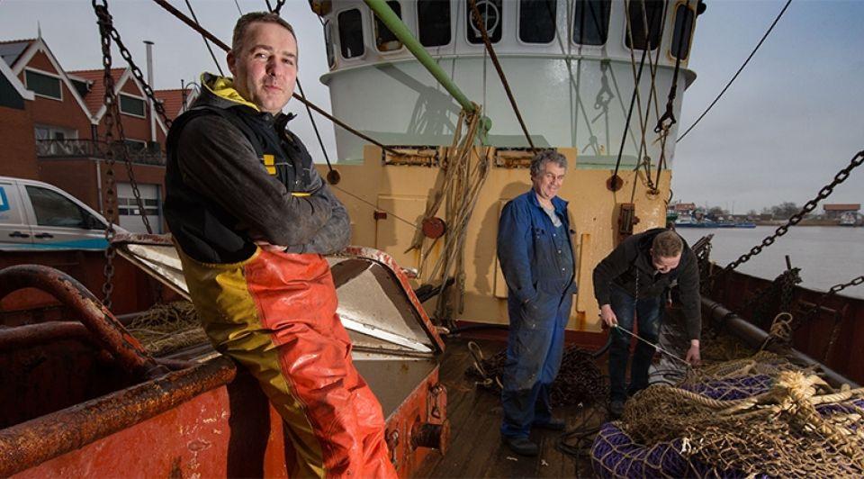Biddag urk jacob willem post UK177 visserij vissersboot vissersvloot