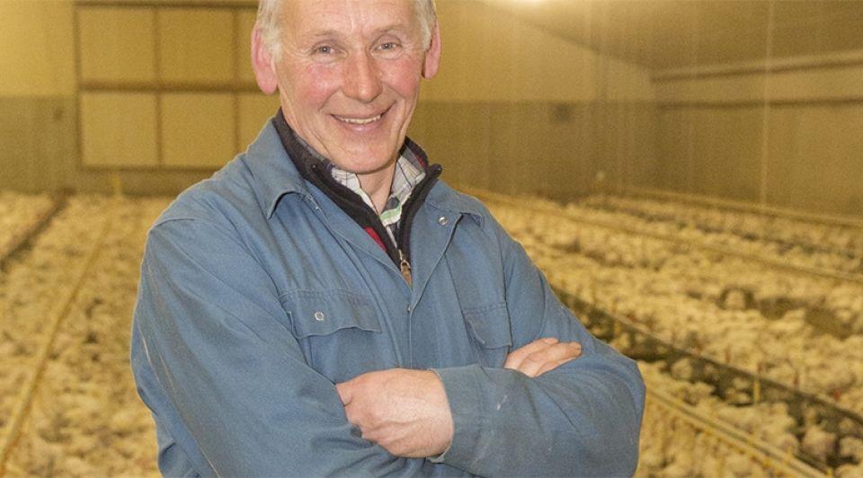 Boer henk kluin terwolde gelderland boerderij kippen pluimvee veeteelt
