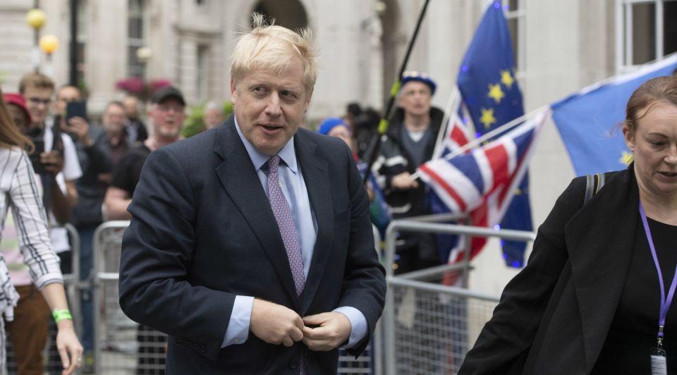 Boris johnson verafschuwd geliefd leugentjes