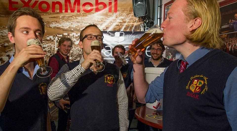 Bracque studenten bier brouwen frans nikkels