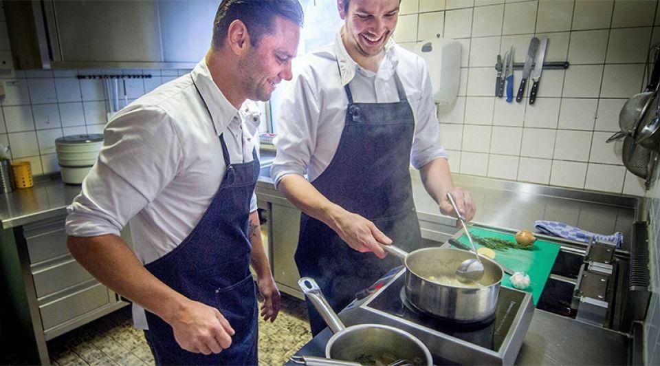 Chef in huis thomas karsten erik de louw wamel winssen koks catering
