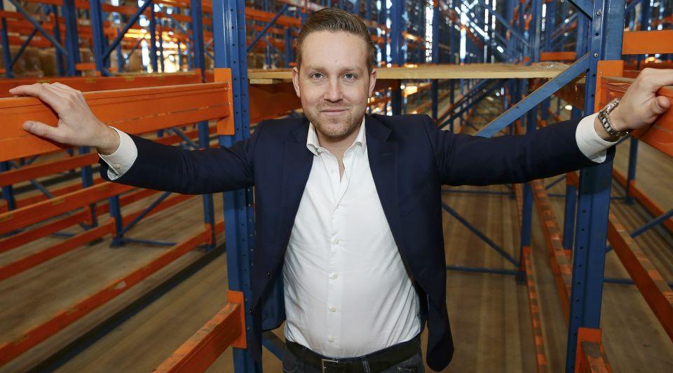 Dekbed discounter niels verwij gouda webwinkel webshop groei 3800 procent data klanten bedden boxspring matrassen leasen