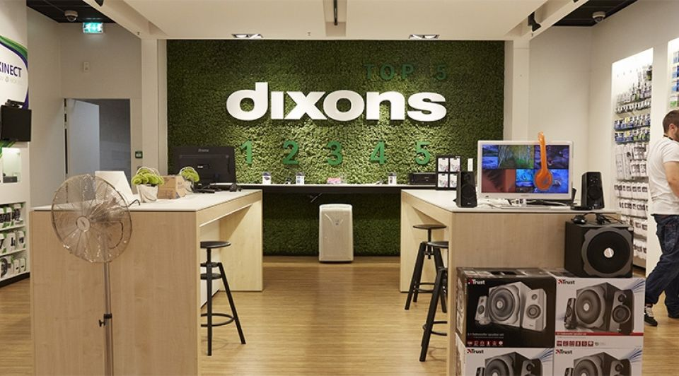 Dixons elektronicazaak failliet anp