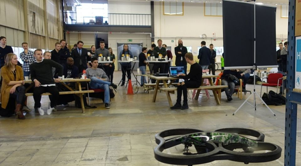 Drone polymer science