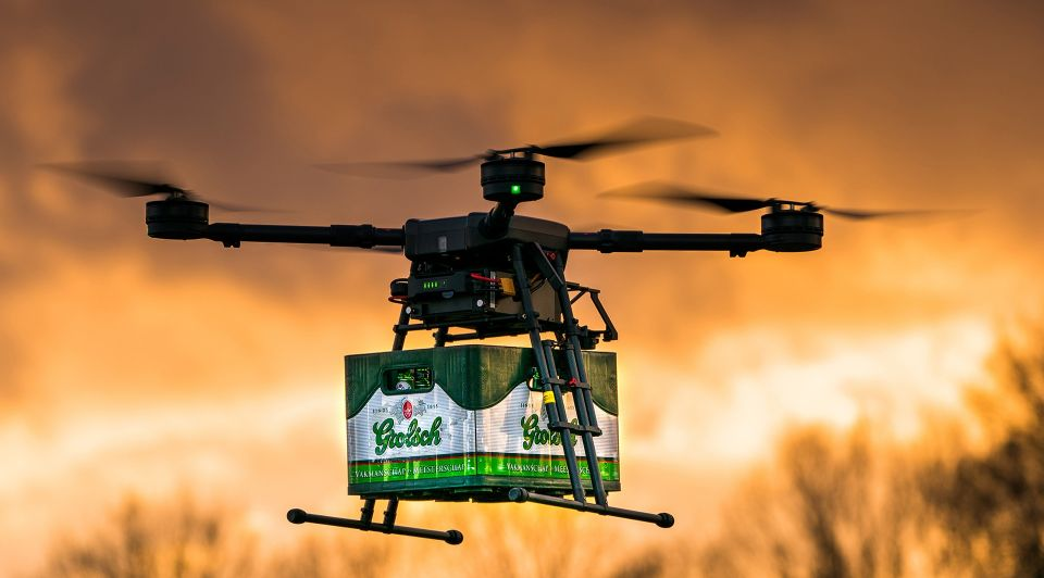 Dronebezorging 1