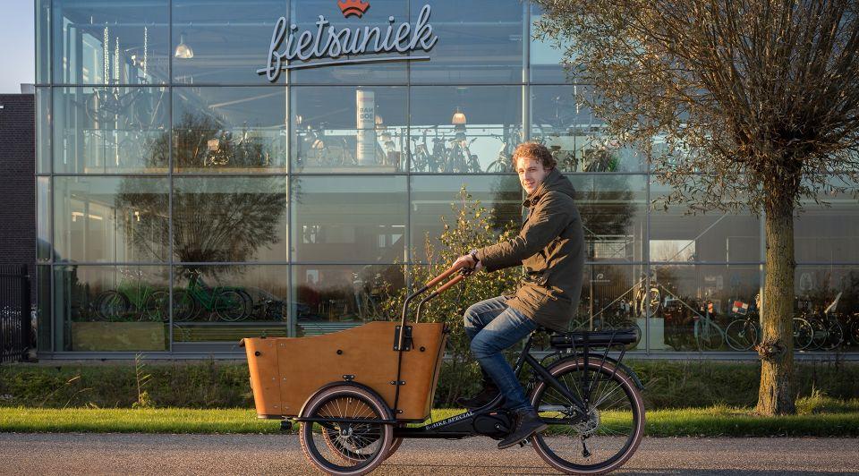 Edwin de jong fietsuniek ondernemer